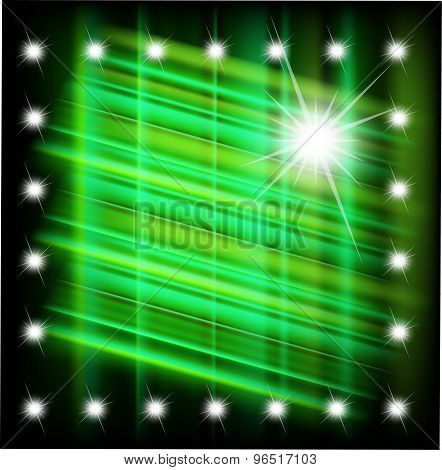 Abstract magic light star background vector