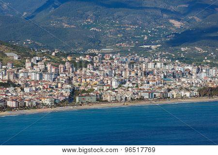City Landscape Of Alanya