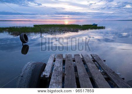 rural pier