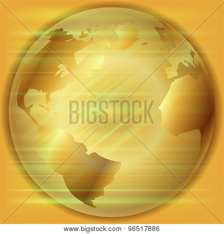 Golden Globe background template