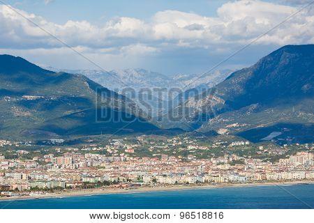 Mountain Landscape Of Alanya, Turkey