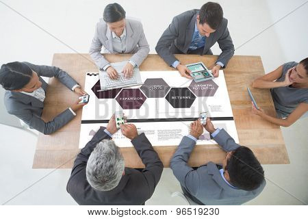 Business interface against business interface