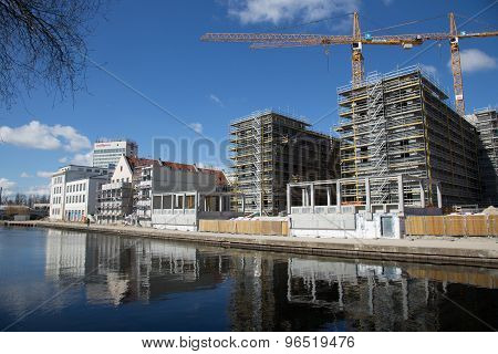Potsdam Construction Site