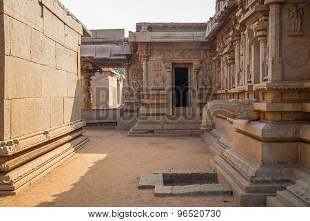 Ruins of Hampi, a UNESCO World Heritage Site, India.