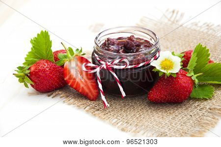 Strawberries Jam