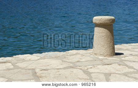 Bollard On The Pier