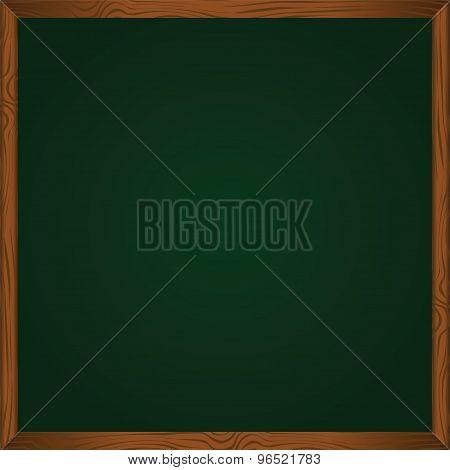 Blackboard, Vector Illustration Green Chalkboard.vector