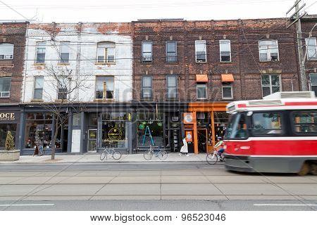 Queen Street West Toronto