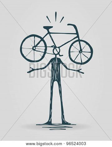 Bicycle Head