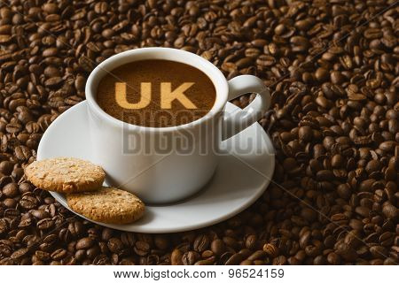 Still Life - Coffee With Text Uk