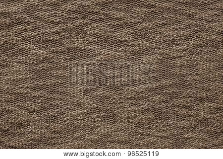 Abstract Texture Jersey Of Dark Brown Color