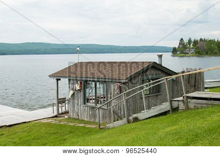 Fishermans Hut In Baddeck