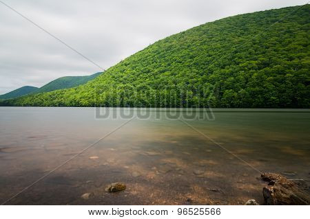 Hills And Lakes In Cape Breton
