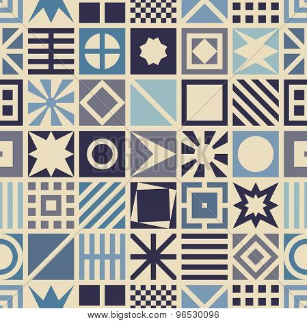 Square seamless pattern.