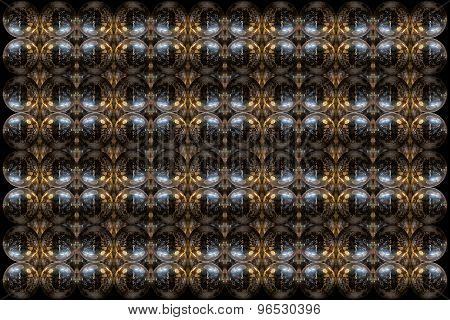 Mirrorball Pattern Design