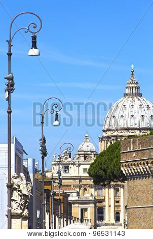 Saint Paul's Cathedral In Rome, Italy