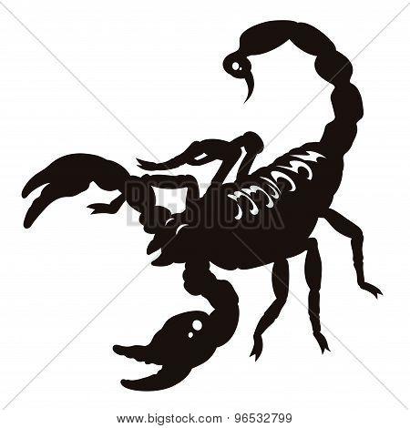 Scorpion Silhouette