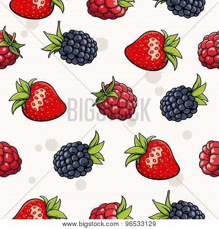 Berries Pattern