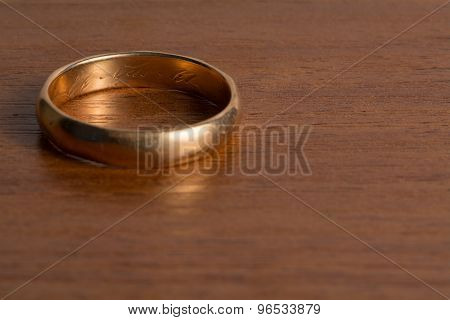 Old Wedding Ring