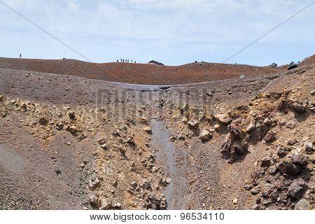 Vulcano Santorini