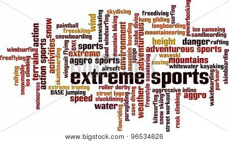 Extreme Sports Word Cloud