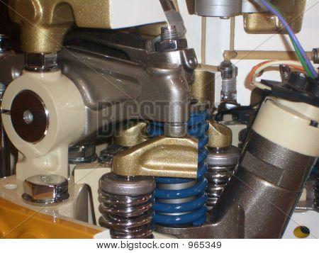 Caterpillar Engine Cutaway