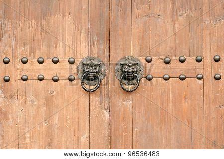 Art On The Door.