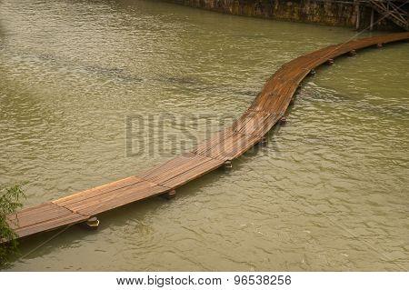 Wooden Bridge.