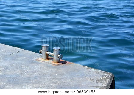 Bollard On Moorage