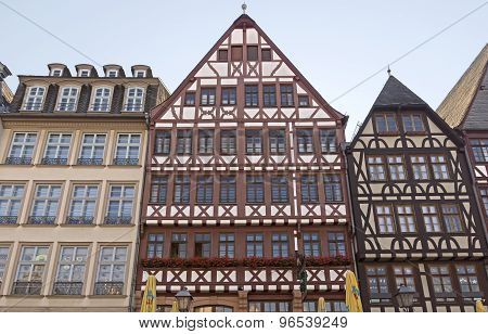 Frankfurt Am Main Historic Roemer Place