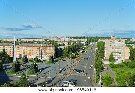 Prospectus Leningradsky In City Nizhny Tagil