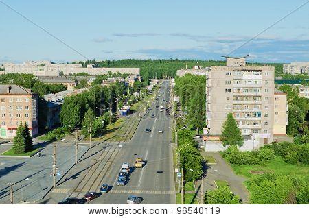 Prospectus Leningradsky, City Nizhny Tagil