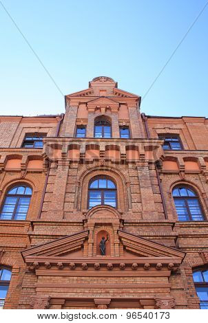 A Beautiful Building In Old Style