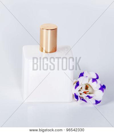Perfume On White