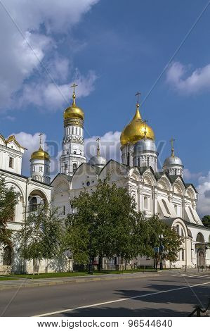 Cathedral Of The Archangel, Moscow