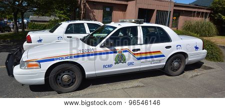 Tofino RCMP police car