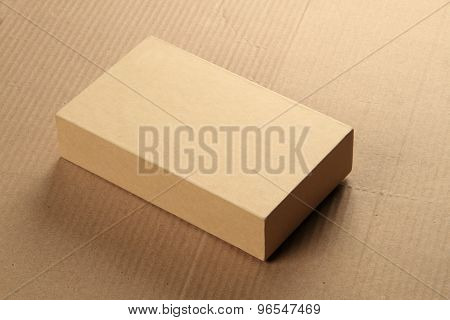 Blank Recycle Card Board Box For Mockup