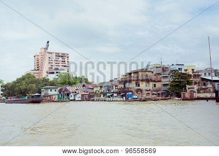 Poor Life In Thailand, Poor Houses In Asia