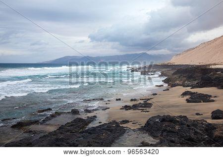 Fuerteventura, Canary Islands, West Coast Of Jandia