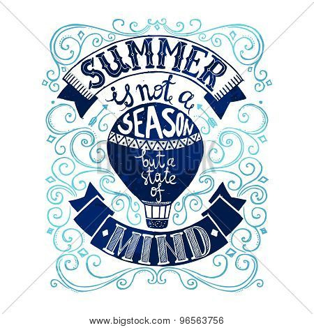 Summer Postcard Template