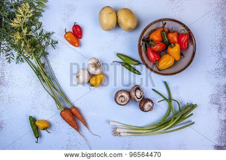 Variety Of Veggies.