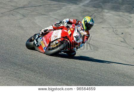 Rome, Italy - September 30 2007. Superbike Championship, Vallelunga Circuit. Troy Bayliss