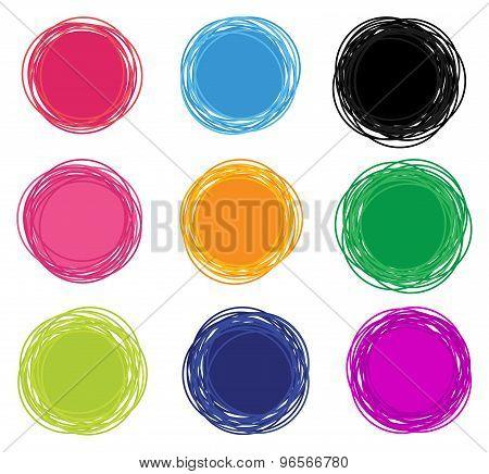 Abstract Emblems Design Set