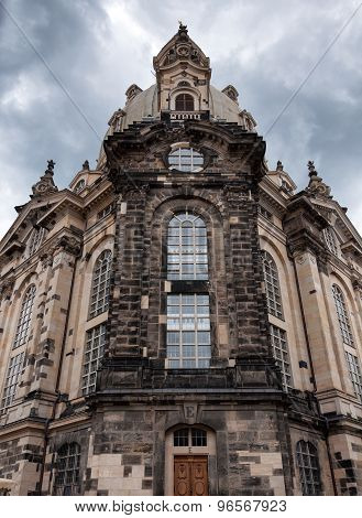 The Church of Our Lady (Frauenkirche) in Dresden, Germany
