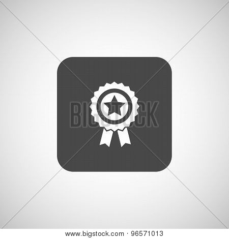 icon award medal achievement sign champion label