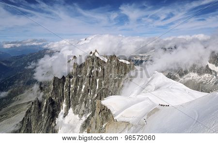 France, Mountain Range Mont Blanc