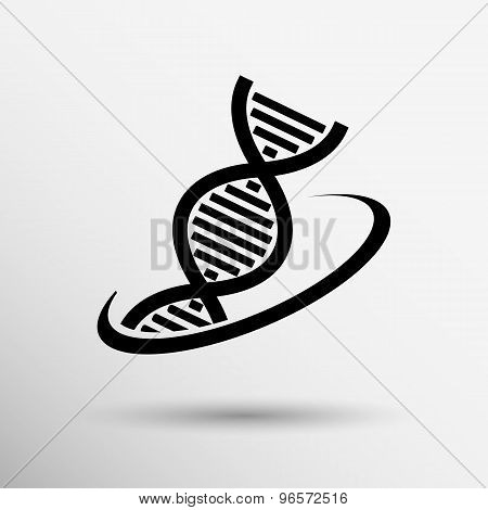 Molecular compound vector icon icon chemistry