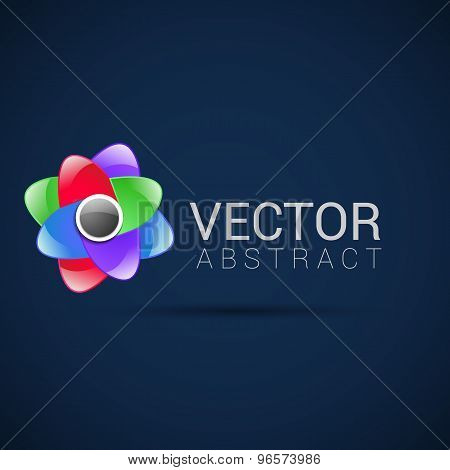 Abstract Logo template set. Icons for any type of business