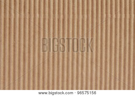 brown corrugated paperboard