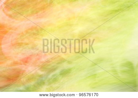 Abstract Background Orange And Green